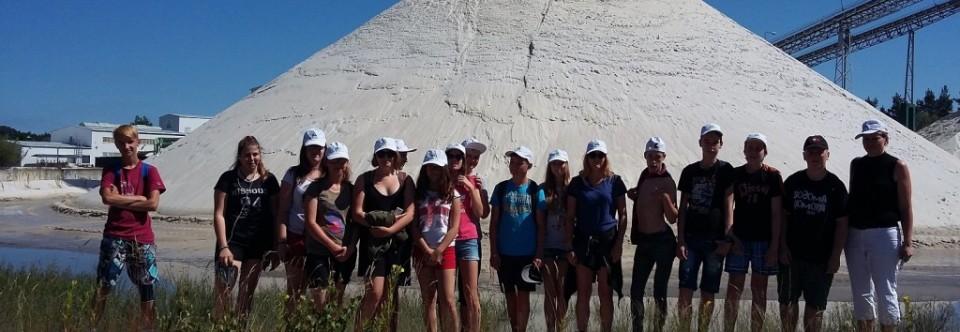 Exkurze do pískovny