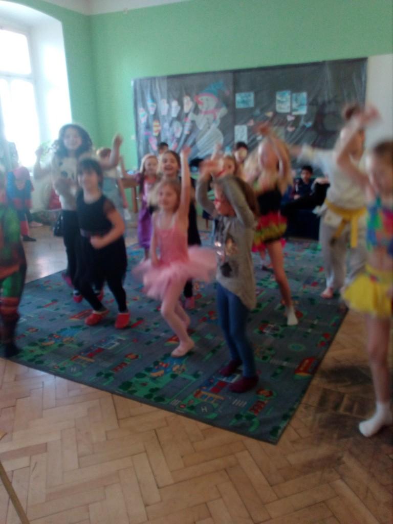 Maškarní karneval v družině